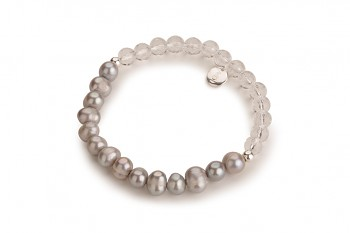 LAI - dedicated to the desire for BEAUTY, baroque pearl, crystal and silver