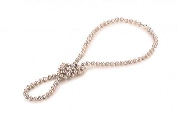 ALIANA Necklace - zasvěcen touze po KRÁSE, barokní perla a stříbro