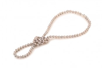 ALIANA Necklace - dedicated to the desire for BEAUTY, baroque pearl and silver