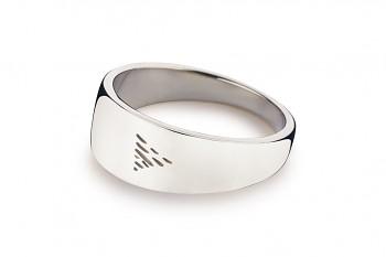 Element VODA - stříbrný prsten, lesk