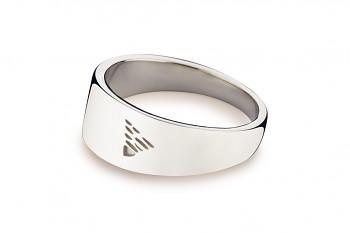 Element ZEMĚ - stříbrný prsten, lesk