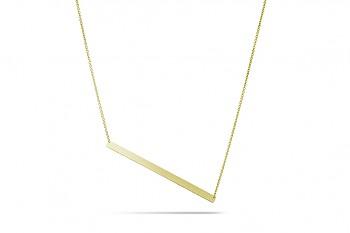 GALAXIA - Stříbrný náhrdelník, pozlacení, řetízek