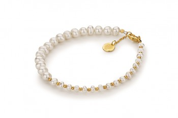 MUTIARA - dedicated to the desire for BEAUTY, pearl and gold plated silver
