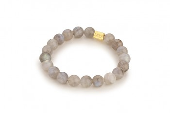 RAHASIA - dedicated to the desire for SERENITY, labradorite and gold plated silver