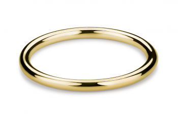 Muselet Abandonné - Gold plated silver Ring