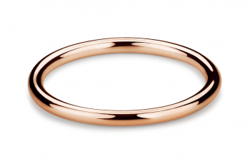 Muselet Abandonné - Rose gold plated silver Ring