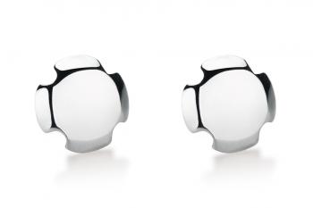 Bouchon Earrings - Blanc de Blancs, lesk