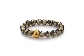 SUASA Ring - pyritový prsten, zasvěcen touze po VNITŘNÍ SÍLE