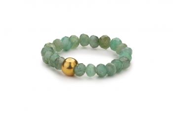 RATU EMERALD Ring - prsten se smaragdem, zasvěcen touze po ROZHODNOSTI